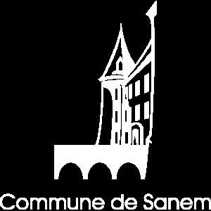 Logo - Commune de Sanem (Blanc)